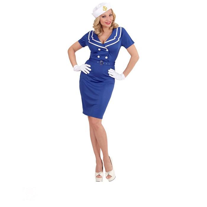 64ebc736a Disfraz de Marinera pin up para mujer