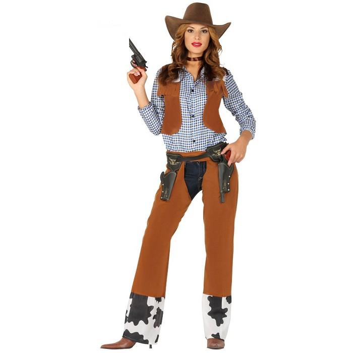 7c025ee9a3ca4 Disfraz Vaquero Oeste para mujer