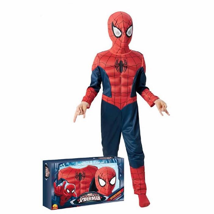 Disfraz Spiderman Ultimate musculoso con caja para niño ©  d0d3434822a