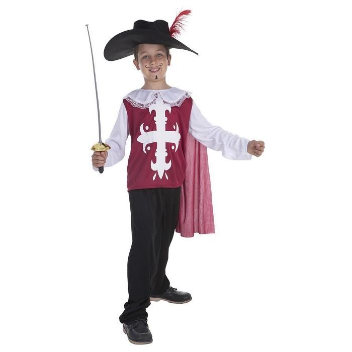 4daa0aa5a807d Disfraz Mosquetero Toledo para niño