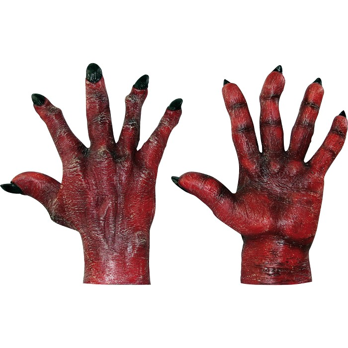Manos Evil Hands Red Ghoulish ©