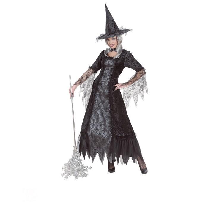 2f30131ec Disfraz de Bruja telarañas negras para mujer