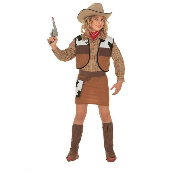 0523590f75ba5 Disfraz Vaquera oeste para niña