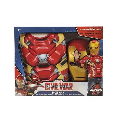 4cf2bb7d22e Set disfraz Iron Man musculoso para niño ©