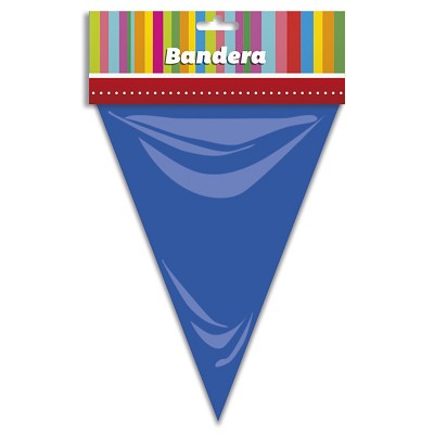 Bandera triangular multicolores en Dresoop