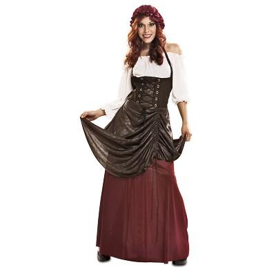 5c25eccc5 Disfraz Tabernera Medieval para mujer