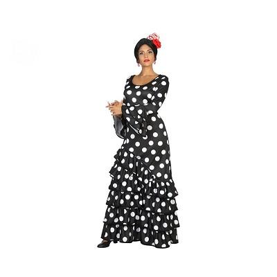 0a8c1e30d Disfraz de Flamenca negra para mujer